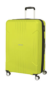 67b1d6b36b American Tourister Tracklite Spinner Expandable 78cm Sunny Lime