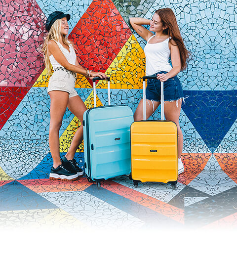 Go lound on colour - Bon Air New Colours 2019  American Tourister